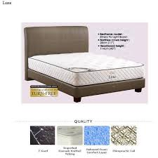 KING KOIL 3 FREE GIFTS  Luxe Mattress Queen Size