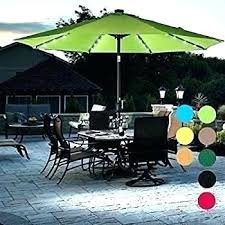 offset patio umbrella with led lights beautiful solar and ft off 11 round in red o