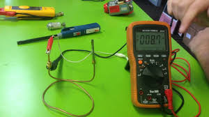 how to test a thermocouple with meter