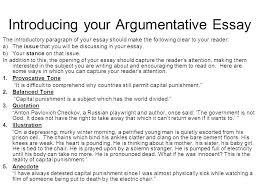 Example Of A Persuasive Essay Introduction Pohlazeniduse