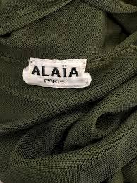 Alaia Size Chart