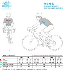 Cycling Jersey Size Chart Mens Size Chart Inches Brainstorm Gear