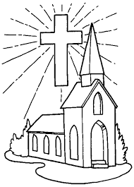 Small Picture Coloring Page Church Coloring Pages To Print Coloring Page and