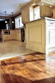 Wooden Floors In Kitchen Kitchen Black Granite White Wood Floor Pleasant Home Design