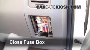 interior fuse box location nissan pathfinder  interior fuse box location 2001 2004 nissan pathfinder 2001 nissan pathfinder xe 3 5l v6