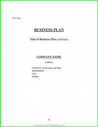 Proposal Cover Sheet Template Business Plan Cover Letter For Sample Bakery To Bank Plans