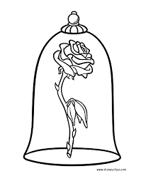 image result for how to draw the rose from beauty and the beast step by step