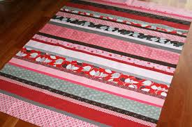 FITF: more about strip quilts – a mini tutorial | Film in the Fridge & I've made many strip quilts ... Adamdwight.com