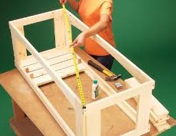 Howtobuildbenchesonadeck  Click On An Image To See A Larger How To Build A Seating Bench