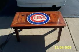 cubs coffee table carpentry picture post contractor talk throughout vintage chicago full size