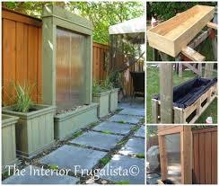 40 creative diy water features for your garden diy patio water wall