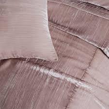 crinkle velvet duvet cover shams
