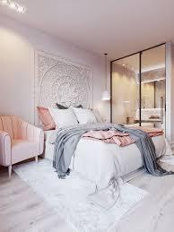 pink white on behance bedroom grey white