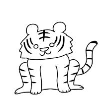 虎のイラストの簡単な書き方 初心者でも描けるコツは イラストの簡単