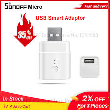 <b>Itead Sonoff Micro 5V</b> USB Smart Wifi Adaptor Switch Wireless USB ...