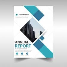 free book cover design templates blue creative annual report book cover template vector