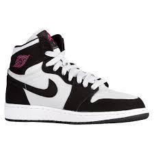 basketball shoes for girls nike black and white. girls jordan aj 1 altas platinum/pink/black/white basketball shoes junior ( for nike black and white o