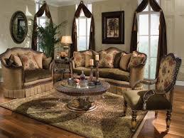 Rana Furniture Living Room Formal Classic European Style Luxury 3 Piece Living Room Set Hd