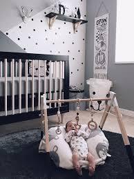 baby boy nursery ideas monochrome zoo nursery CXUESLW