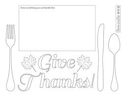 I have created four different thanksgiving placemats to color, so the children have plenty of options to keep them. Printable Thanksgiving Placemats To Color Favecrafts Com