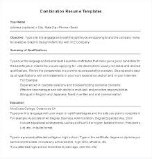Combination Resume Template 2015 Best of Hybrid Resume Template Dolphinsbillsus