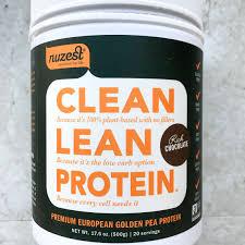 nuzest clean lean protein vegan protein powder