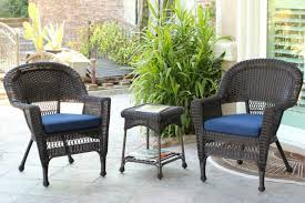 costway 3 pcs cushioned outdoor wicker patio set garden lawn sofa furniture seat brown com