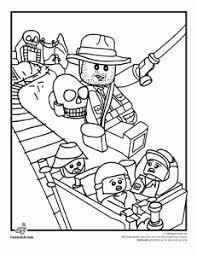 Lego Indiana Jones Coloring Sheet Coloring Printables For Kids