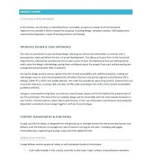 It Project Proposal Template Free Download Technical Project Proposal Template Doc Management Free