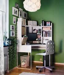 ikea computer desks small spaces home. Just Because You Have A Small Space Doesn\u0027t Mean Can\u0027t Home Office. Take Cue From Ikea, And Invest In Space-optimizing Corner Desk That Can Ikea Computer Desks Spaces T