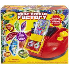 Crayon Rings Amazoncom Crayola Melt N Mold Factory Toys Games