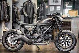 three custom ducati scramblers revealed in verona motorcycle usa