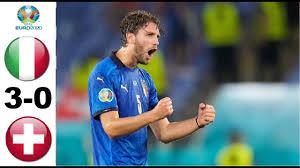 Italia vs Svizzera Highlights - EURO 2020 - YouTube