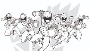 Coloring Pages Free Coloring Pages Of Black Ranger Dino Power