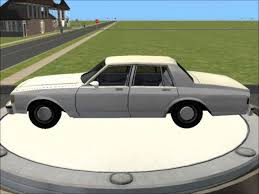 Sims 2 Car Conversion by VoVillia Corp. - 1986 Chevrolet Caprice ...