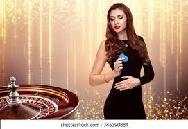 Casino Girl Images, Stock Photos & Vectors | Shutterstock