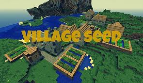Minecraft Village Seeds Village In Front Of You Seed 1 5 1 Minecraft Project