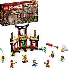 Amazon.com: LEGO NINJAGO Legacy Tournament of Elements 71735 Temple Toy  Building Set Featuring Ninja Minifigures, New 2021 (283 Pieces): Toys &  Games