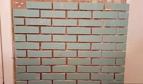 how to create an imitation of brickwork