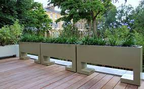 bespoke garden planters london modern
