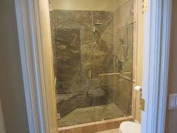 Glass Enclosed Showers custom notched 12 glass shower enclosure la jolla ca 5491 by xevi.us