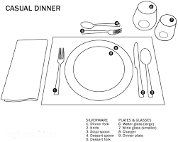 formal setting of a table. how to set a dinner table for formal setting of