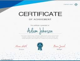 Sample Certificates Templates 300 Customizable Design Templates For Certificate Postermywall