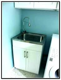 laundry sink cabinet farmhouse and utility from home depot glacier bay kitchen cabinets