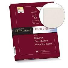Amazon Com Southworth 100 Cotton Resume Paper 8 5