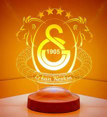 Galatasaray Fan Geschenke Lampe - Personalisiert – Geschenkelampe