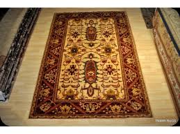 new persian heriz vegetable dyed rug