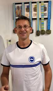 Brighton and Hove News » Financial advisor and Albion fan set to add up  over 61 laps of the Amex