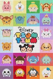 Tsum Tsum Color Chart Ravenpuff Magic Stuff Tsum Tsum Squares Perler Bead
