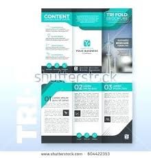 Pamphlet Template For Word 2007 Business One Sheet Template Fresh Brochure Templates Word 2007 For